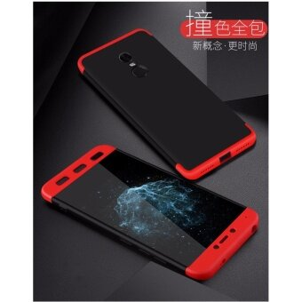 Xiaomi Redmi Note 4 (SNAPDRAGON)/ Note 4x (SNAPDRAGON) GKK 360 Degree Full Covered Matte Case Cover Casing (Red) - 3