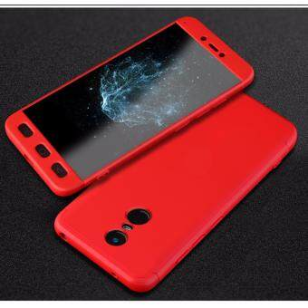 Xiaomi Redmi Note 4 (SNAPDRAGON)/ Note 4x (SNAPDRAGON) GKK 360 Degree Full Covered Matte Case Cover Casing (Red) - 2