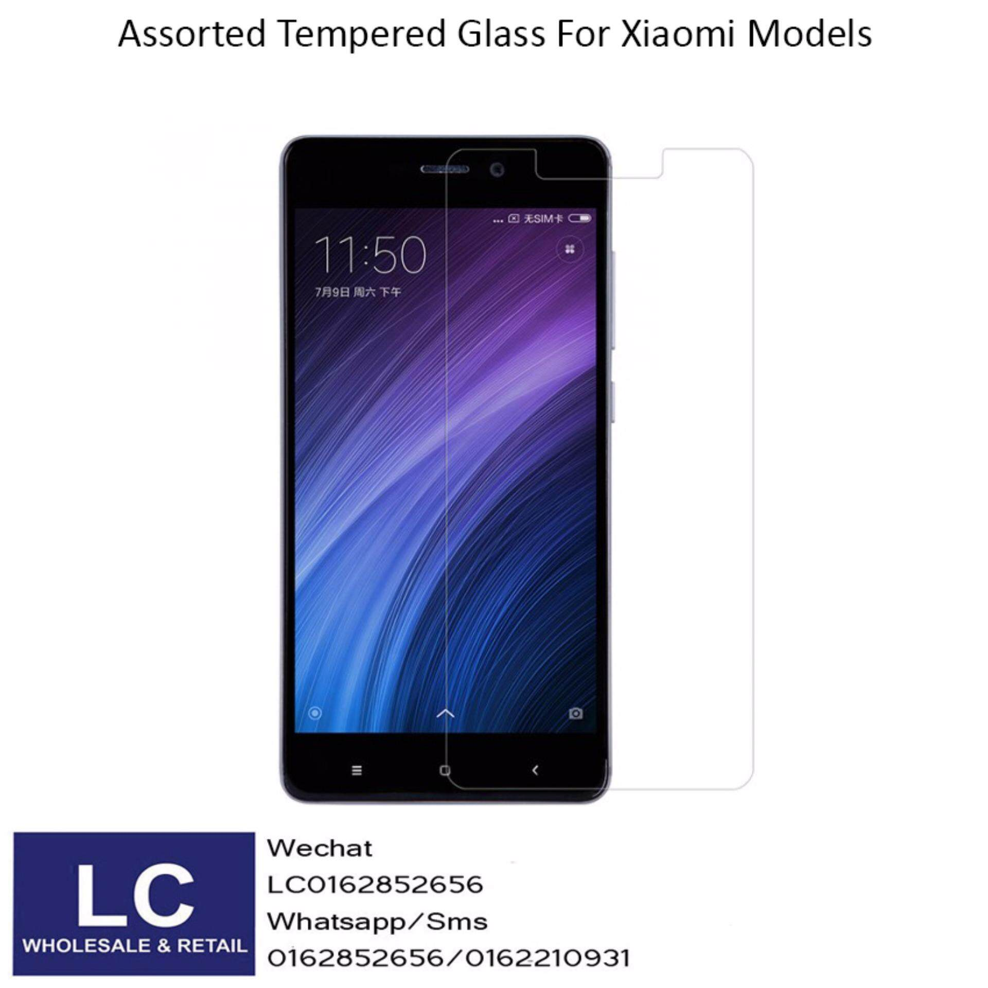 XIAOMI Tempered Glass For Redmi 4X / HD / 9H Hardness / High Grade