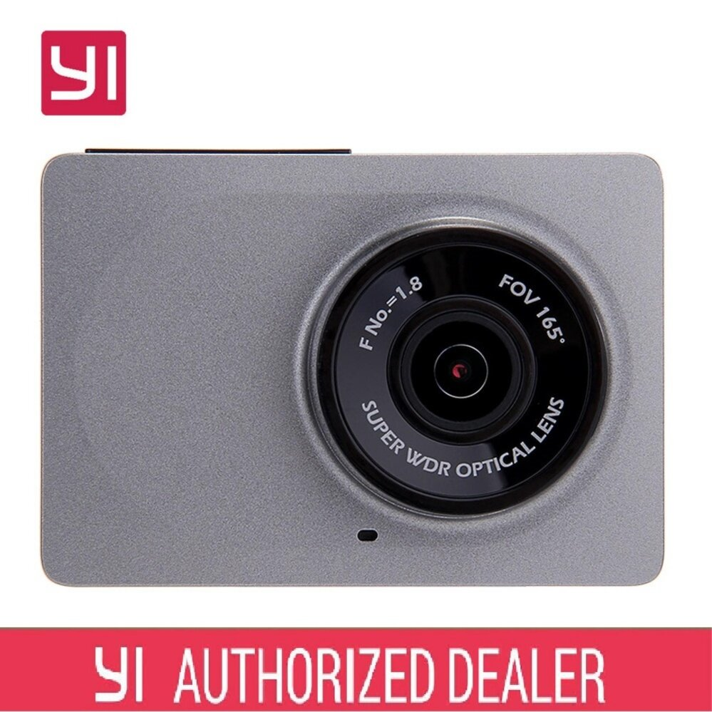 Xiaomi XiaoYi Yi Car Dash Camera Recorder 1080P HD international set grey
