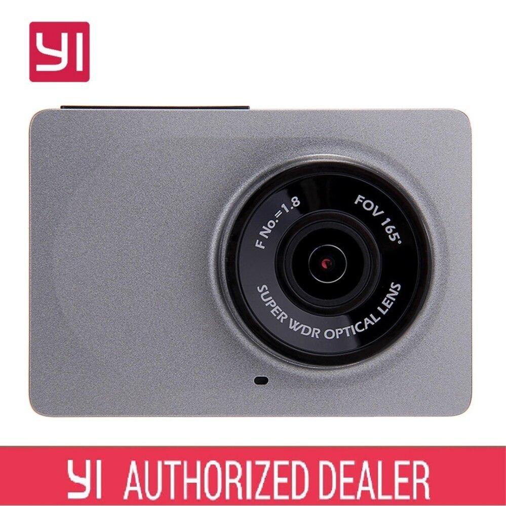Xiaomi XiaoYi Yi Car Dash Camera Recorder 1080P HD international set grey + Samsung 32GB SD memory sd card