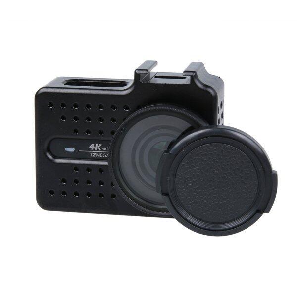 Detail Gambar Xiaoyi Yi II 4 K Olahraga Kamera Aksi CNC Kerangka Paduan Aluminium Case Pelindung dengan Lensa Tutup Pelindung (Hitam)-Intl Terbaru