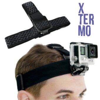 Harga XTERMO Adjustable Head Strap for GoPro HERO 3 / 3+ /4 ActionCameras