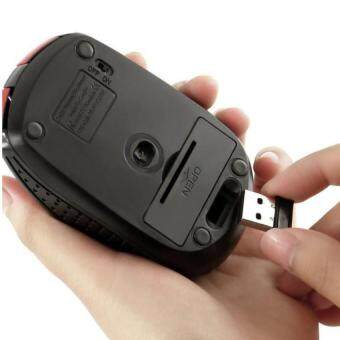 YBC 2.4GHz Wireless Optical Mouse With USB 2.0 Receiver For PC Laptop Red Malaysia