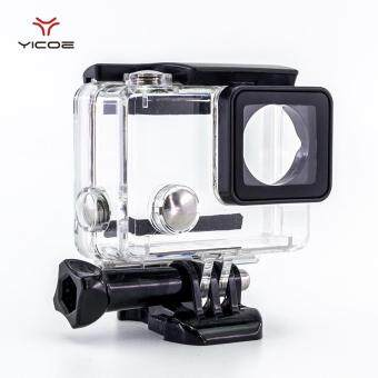 YICOE 45M Diving Waterproof Case Cover Sports House Box with Mountfor Go Pro Hero 4/3+ Session 4k GoPro Session Action Sport CameraAccessories