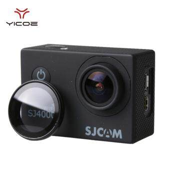 YICOE UV Filter Cover Lens For SJCAM Wifi SJ4000 SJ4000plus EKENH9R H9 Protective Optical Glass Lens Cover Filter Action SportCamera Accessories