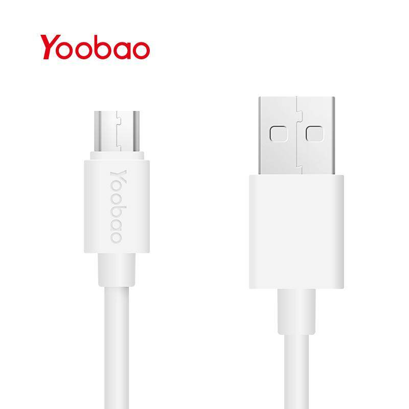 Yoobao Micro USB Cable Max 2.1A Data Phone Cable Mini USB Mobile Phone Fast Charging Cables 1M Long - intl