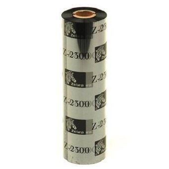 Zebra Premium Wax Barcode Ribbon - 110mm x 74M (Black)