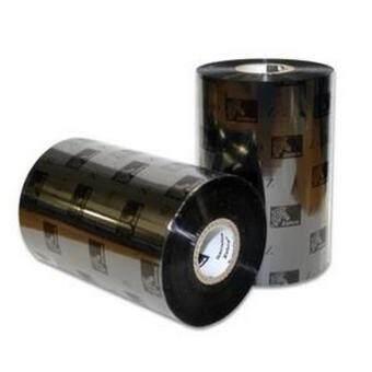 Zebra Primium Wax Barcode Ribbon - 110mm x 300M (Black)