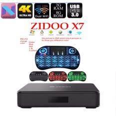 *RM360 00* Zidoo X7 4K Android 7 1 TV Box Bluetooth4 1