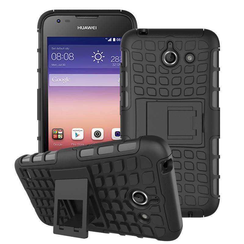 Zoeirc Heavy Duty Shockproof Dual Layer Hybrid Armor Protective Cover with Kickstand Case