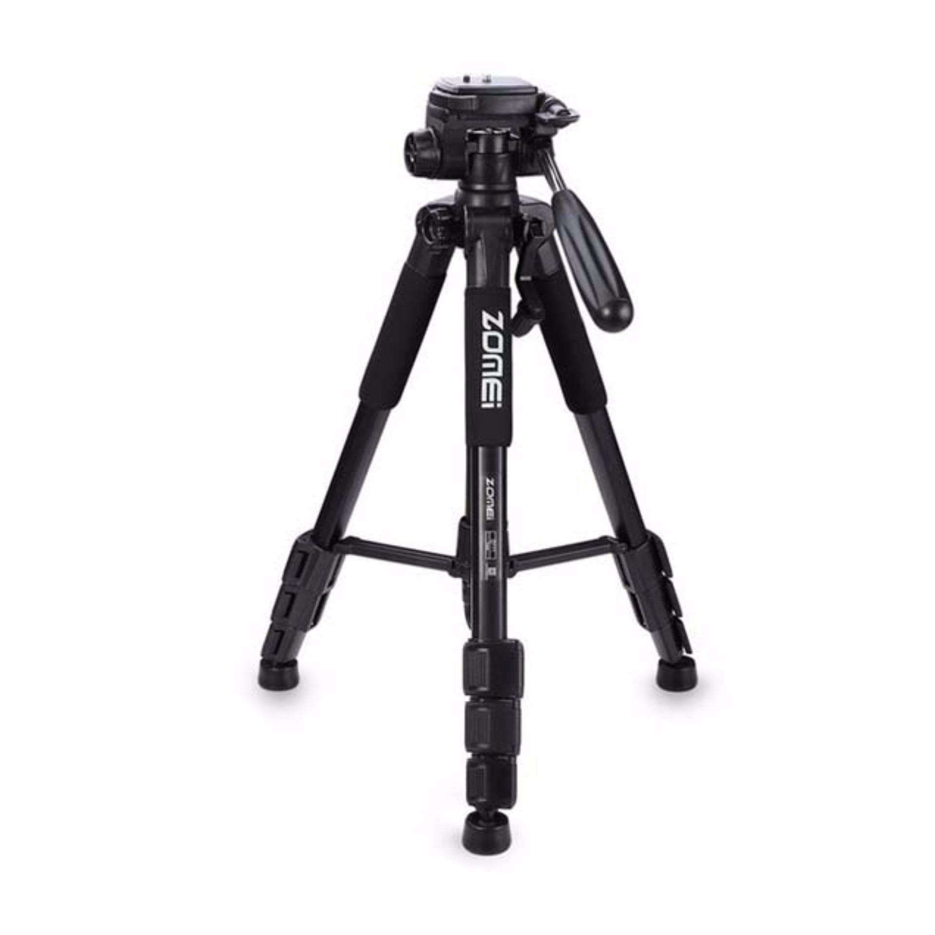 Zomei Q111 Portable Pro Camera Travel Tripod Lightweight Stand for DSLR Morroless camera