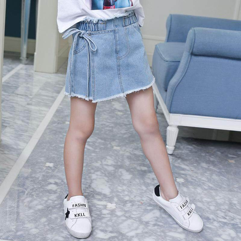 Pre-teen Girl Denim Jeans Skirt Pant