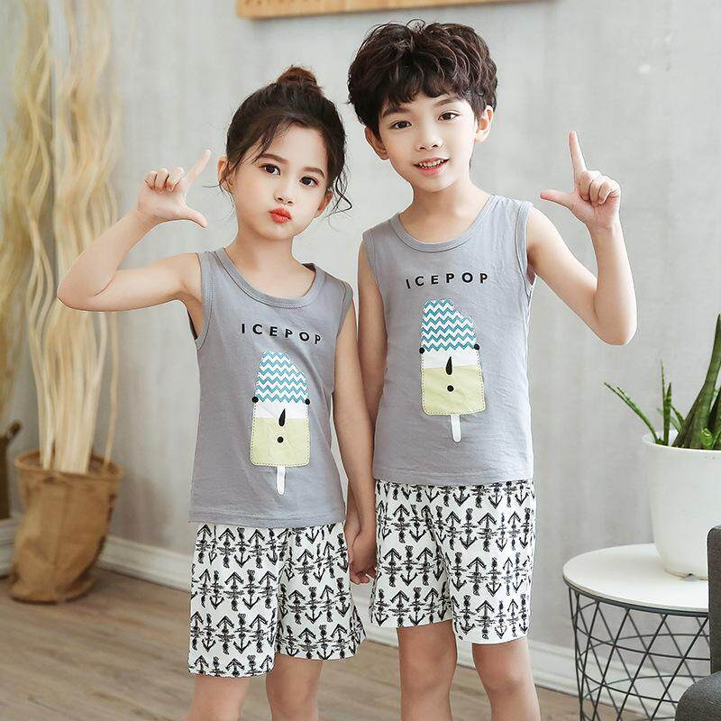 2019 Latest Design! Kids Sleeveless Set - Kids Sleeveless Set - ICEPOP