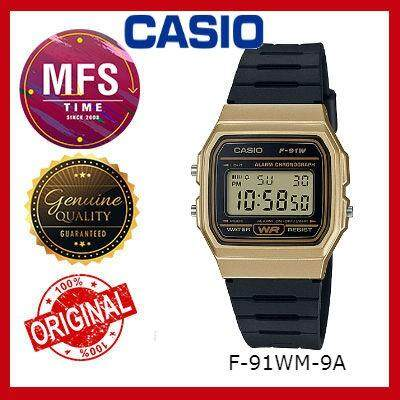 (2 YEARS WARRANTY) CASIO ORIGINAL F-91WM SERIES YOUTH DIGITAL UNISEX WATCH