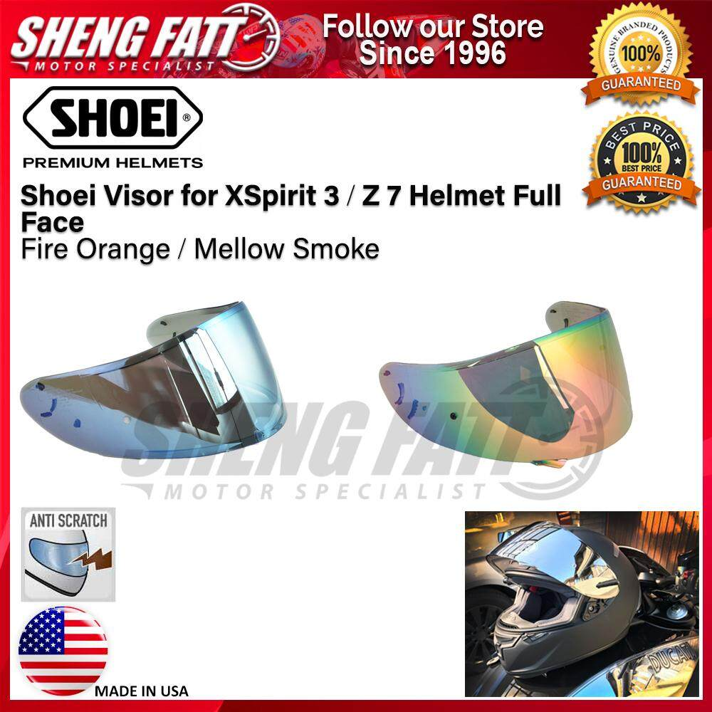 Shoei Visor for X-Spirit 3 / Z7 Helmet Full Face Helmet Motorcycle [ORIGINAL]