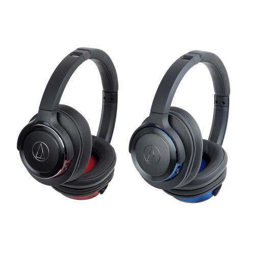 Audio Technica ATH-WS660BT Solid Bass Bluetooth 4.1 Wireless Over-Ear Headphones 53mm Drivers with Built-on Controls and Mic