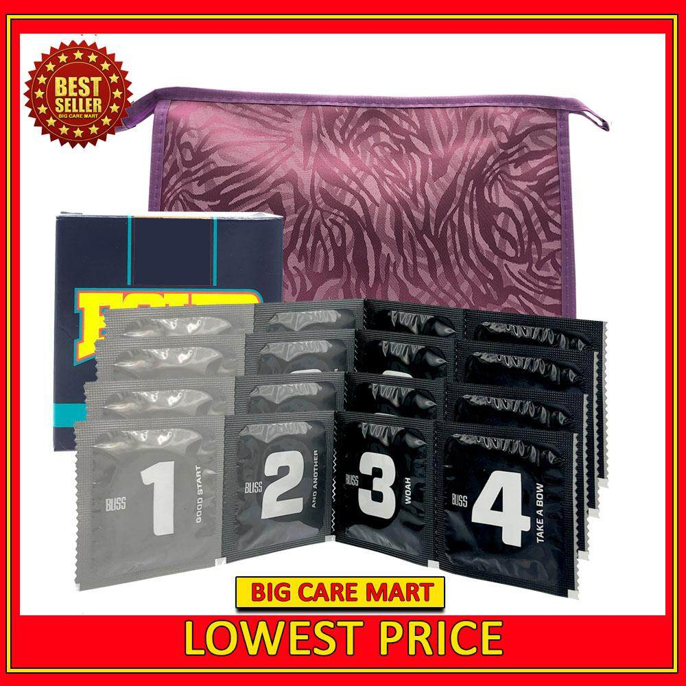 Four Ultra Thin Condoms 24pieces + Storage Pouch