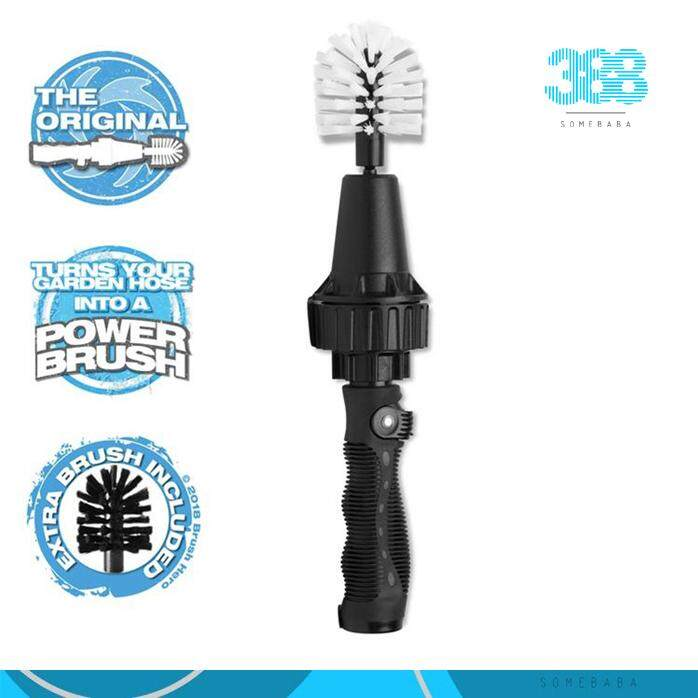 【READY STOCK】Car Rim Wheel Tire Cleaning Brush Auto Motorcycle Scrubbing Washing Tyre Dust Dirt Cleaner