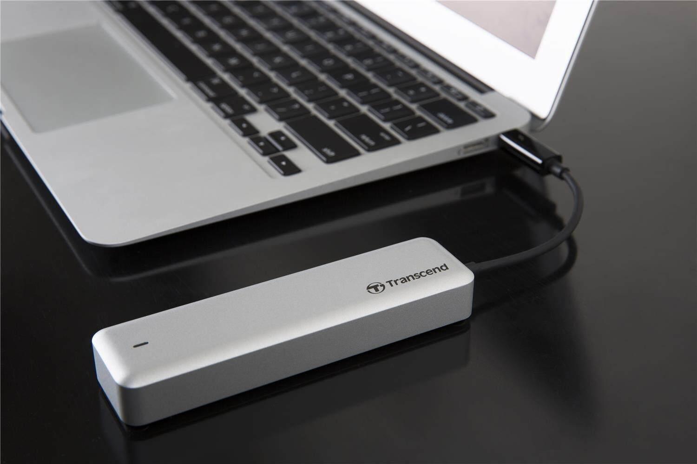 Transcend 240GB SSD JDM 825 SATA3 PCIe Solid State Drive / JetDrive 825 Thunderbolt for Mac (TS240GJDM825)  240GB, 480GB, 960GB Jet Drive 825
