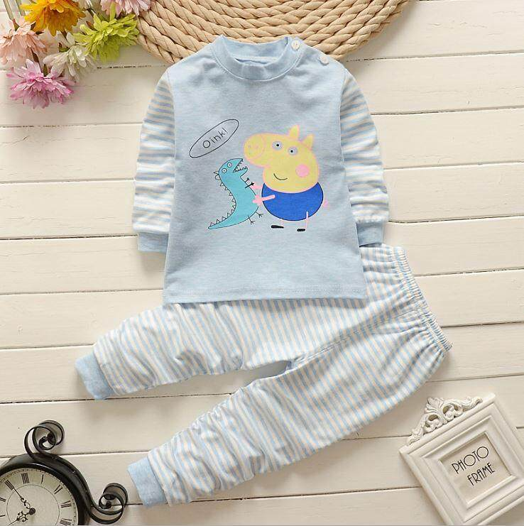Kids Pyjamas - Peppa Pig Blue