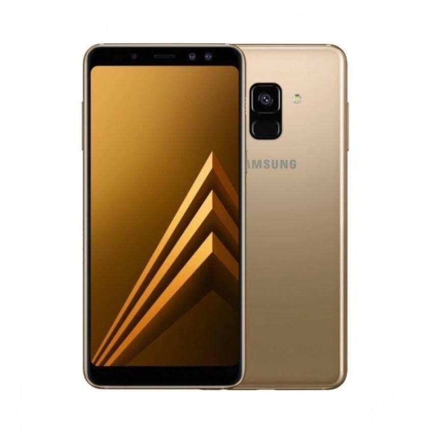 Samsung Galaxy A8 2018 [4GB RAM/32GB ROM] Original Samsung Malaysia Set (Gold)
