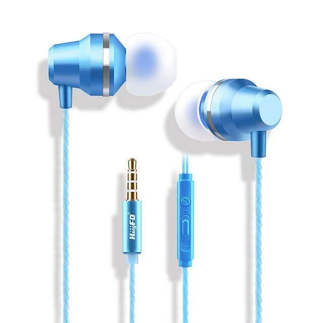 ของแท้ขาย M5 สายสเตอริโอหูฟังหูฟังมีไมโครโฟนควบคุมระดับเสียงเสียงเบสหูฟังเอียร์บัดชุดหูฟังสำหรับโทรศัพท์ IPhone Xiaomi หูโทรศัพท์