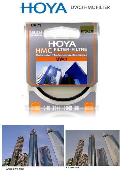 Hoya Digital Multicoated HMC UV(C) Filter 37mm to 82mm camera Canon Nikon Sony other (Genuine Hoya Malaysia)