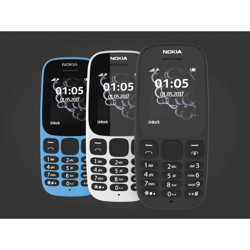 Nokia 105 Black ( 2019 Featured Phone Classic Curve)