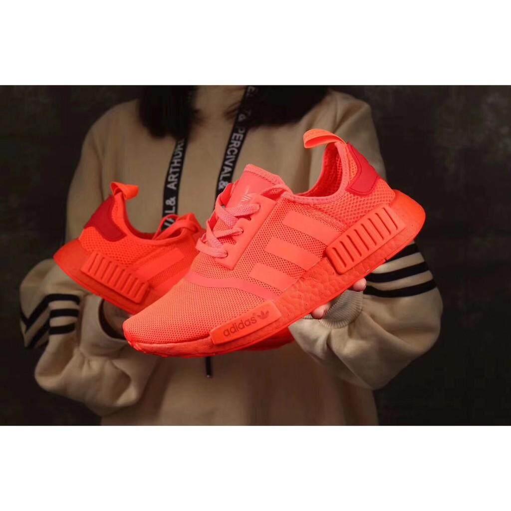ยี่ห้อนี้ดีไหม  ภูเก็ต รองเท้า Adidas NMD R 1 36--44 ผู้ชายผู้หญิงรองเท้ากีฬา
