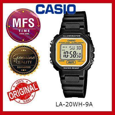 (2 YEARS WARRANTY) CASIO ORIGINAL LA-20WH-9A DIGITAL KID'S WATCH