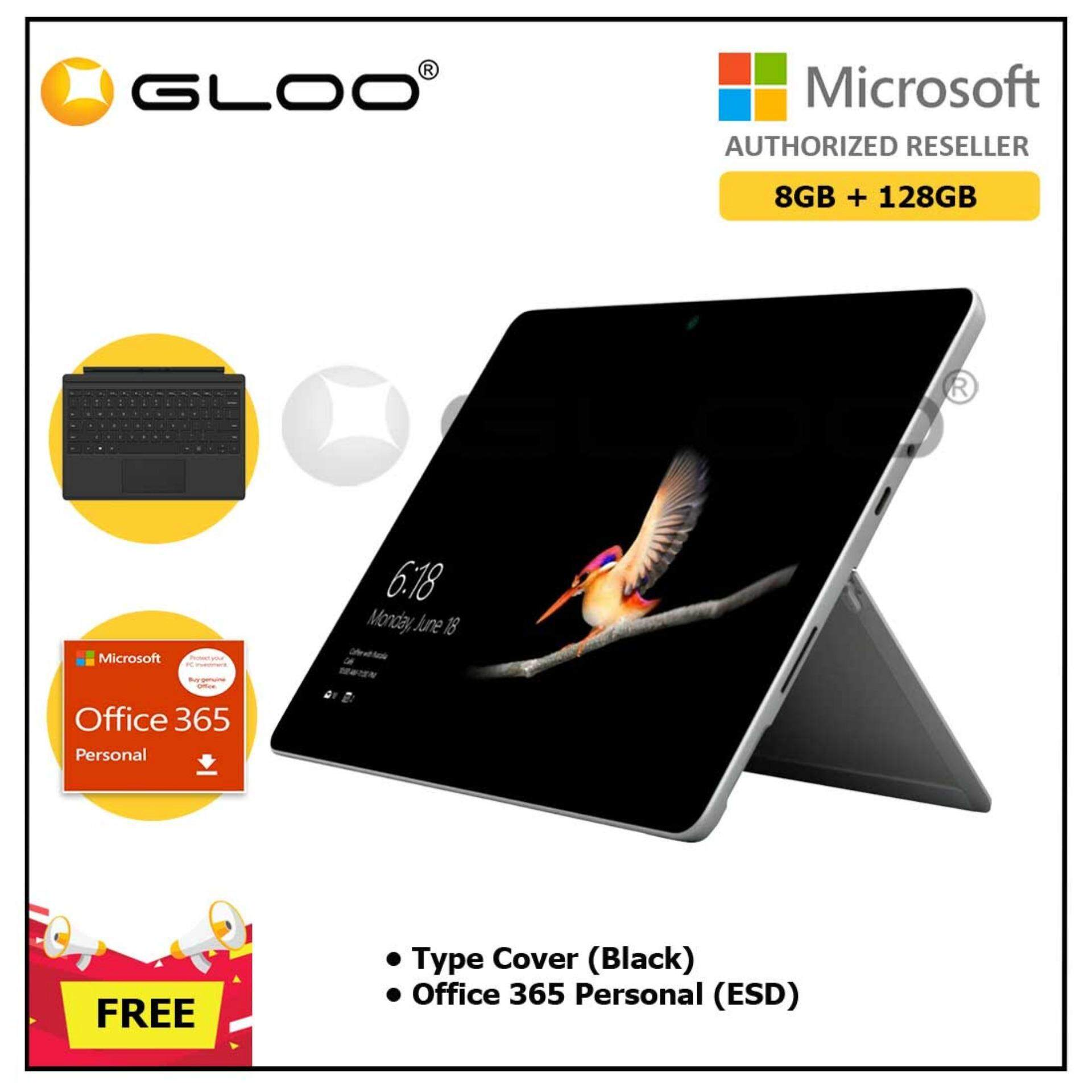 Surface Go Y/8GB 128GB + Surface Go Type Cover Black + Office 365 Personal ESD