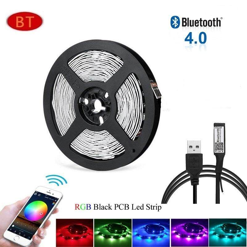 Bluetooth Control 5V USB LED Strip 5050 RGB TV Background Lighting