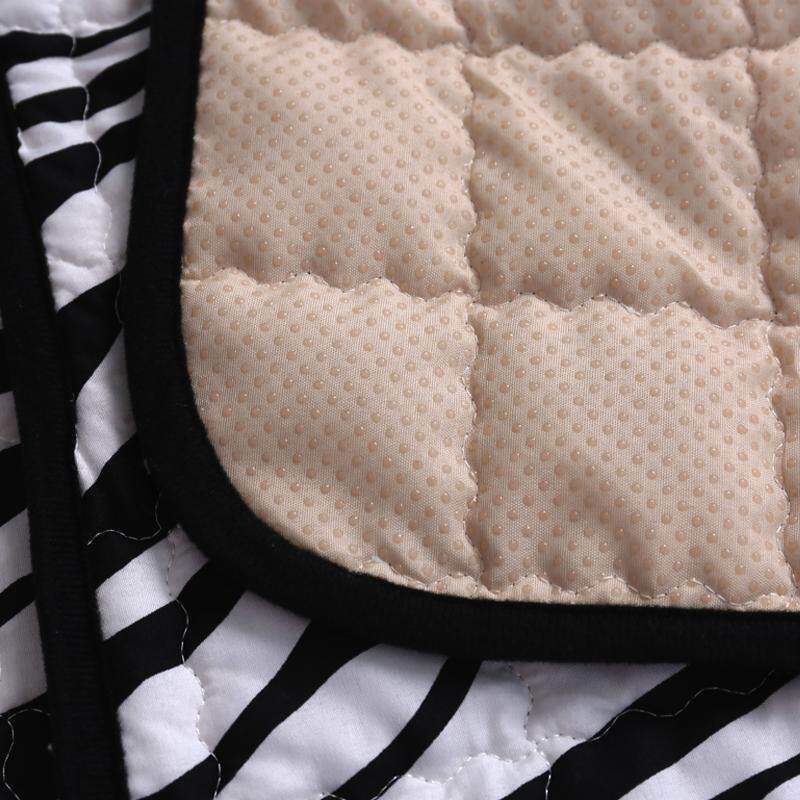 Detail Gambar 4 musim bantal sofa Kain modis bantal duduk motif garis BLACK&WHITE motif Zebra Bantal sofa Anti Selip kain alas sofa motif macan tutul bantal ...