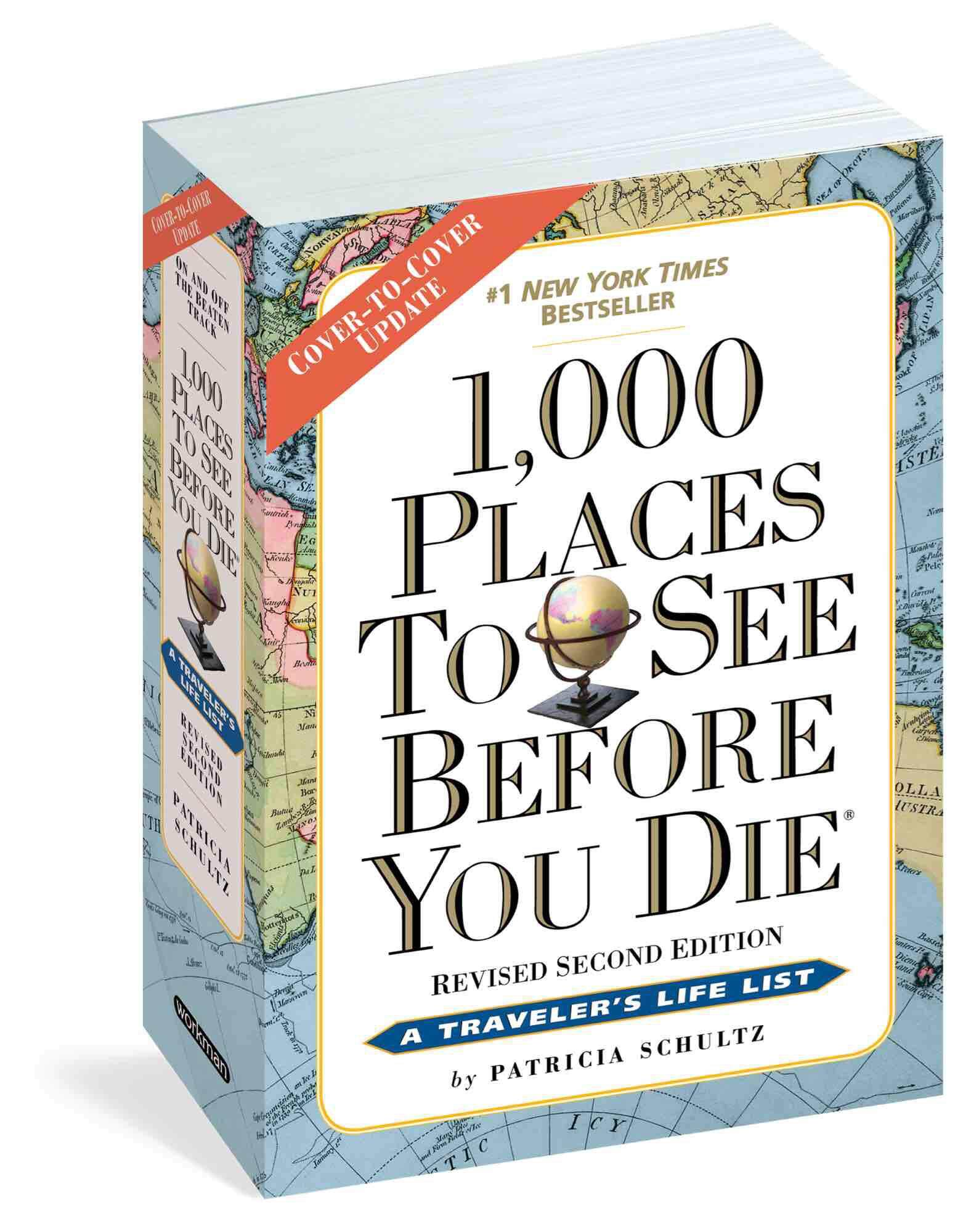 1000 places to visit before you die : Travel guide ebook