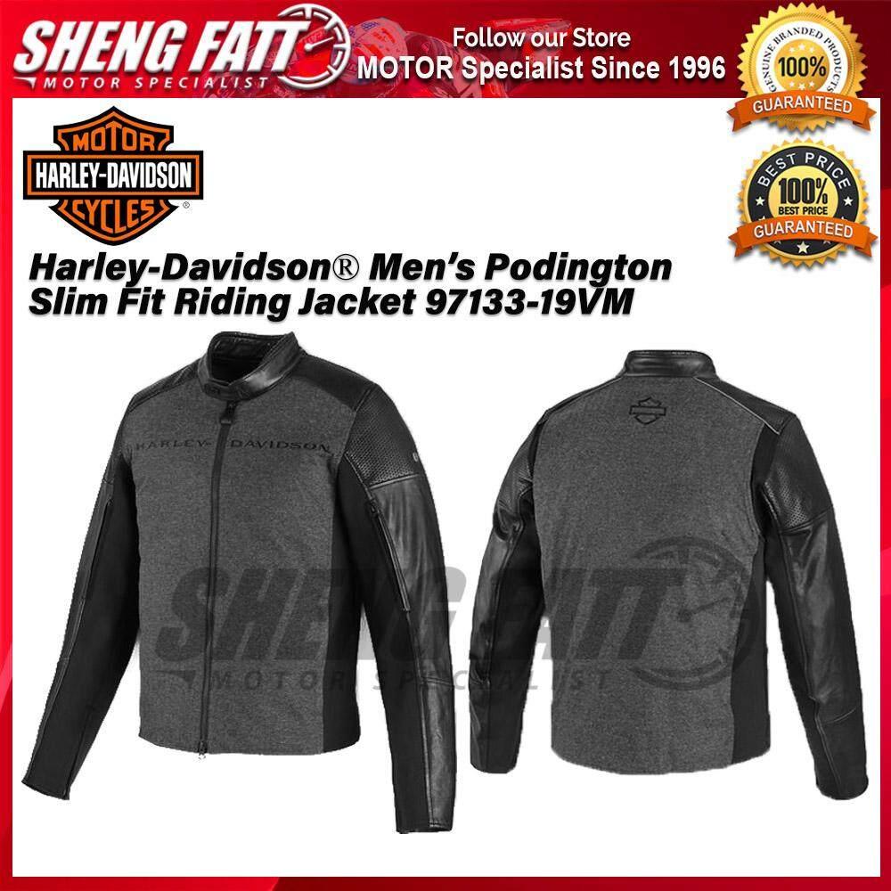 Harley-Davidson® Men's Podington Slim Fit Riding Jacket 97133-19VM - [ORIGINAL]