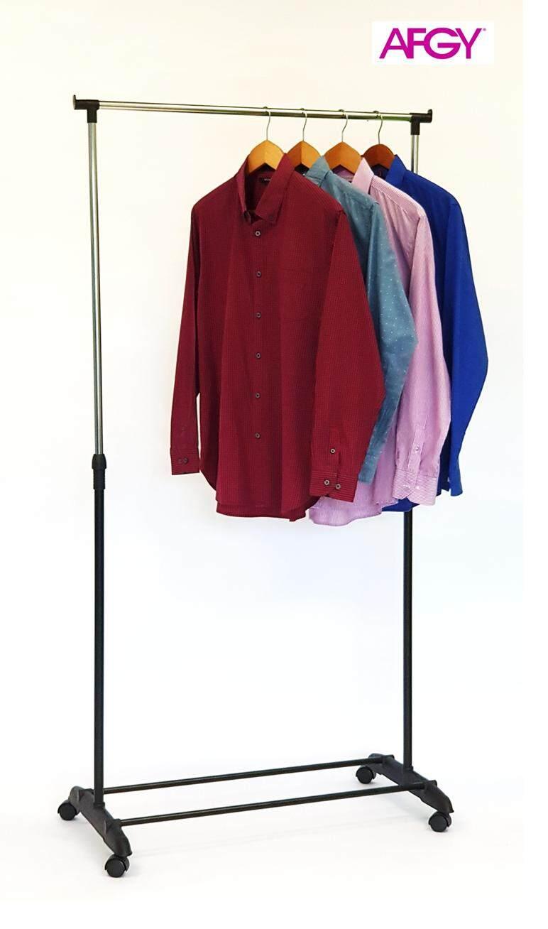 AFGY FGR 101 Stainless Steel Flexi Garment Rack