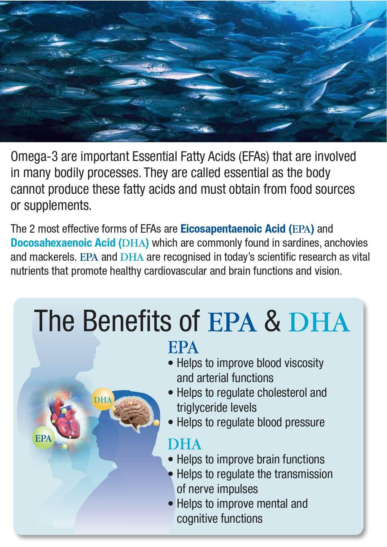 Elken EPA DHA (130 Softgels) - HED130