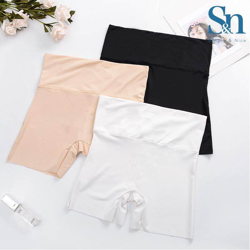 【3 Pcs Top Selling Premium Silk Safety Pants】SIMPLE & NICE Women/Female/Girls Standard Plain Design Safety Pants Inside Wear Set (M-XL) Direct From Factory