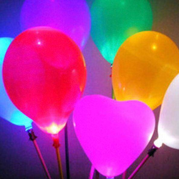 Love shape LED Balloon (5pcs)