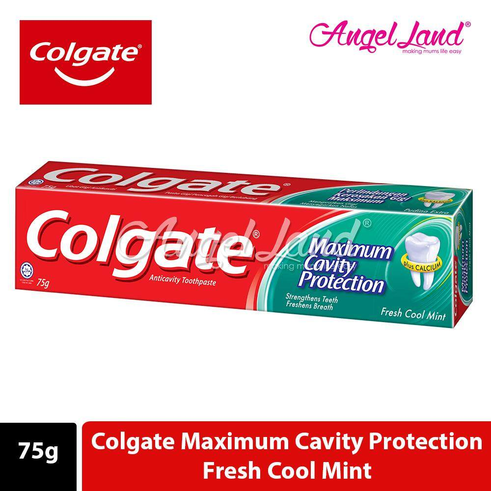 Colgate   Maximum Cavity Protection Cool Mint 75g