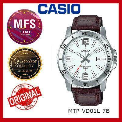 (2 YEARS WARRANTY) CASIO ORIGINAL MTP-VD01L SERIES DRESS ANALOG-GENT'S WATCH
