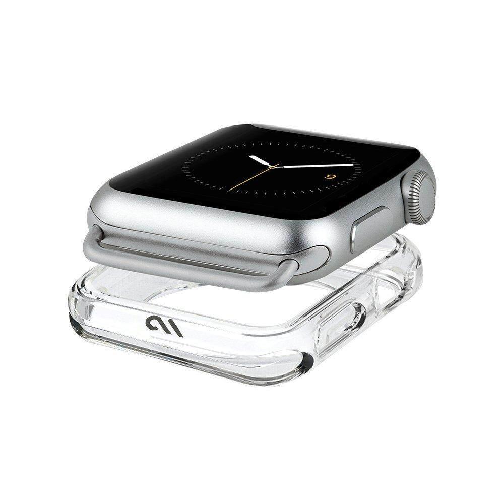 [38mm/40mm] Original Case-Mate - Apple Watch Bumper Case - 38mm 40mm - NAKED TOUGH - Series 4 Apple Watch - Series 3, Series 2, Series 1 - Clear