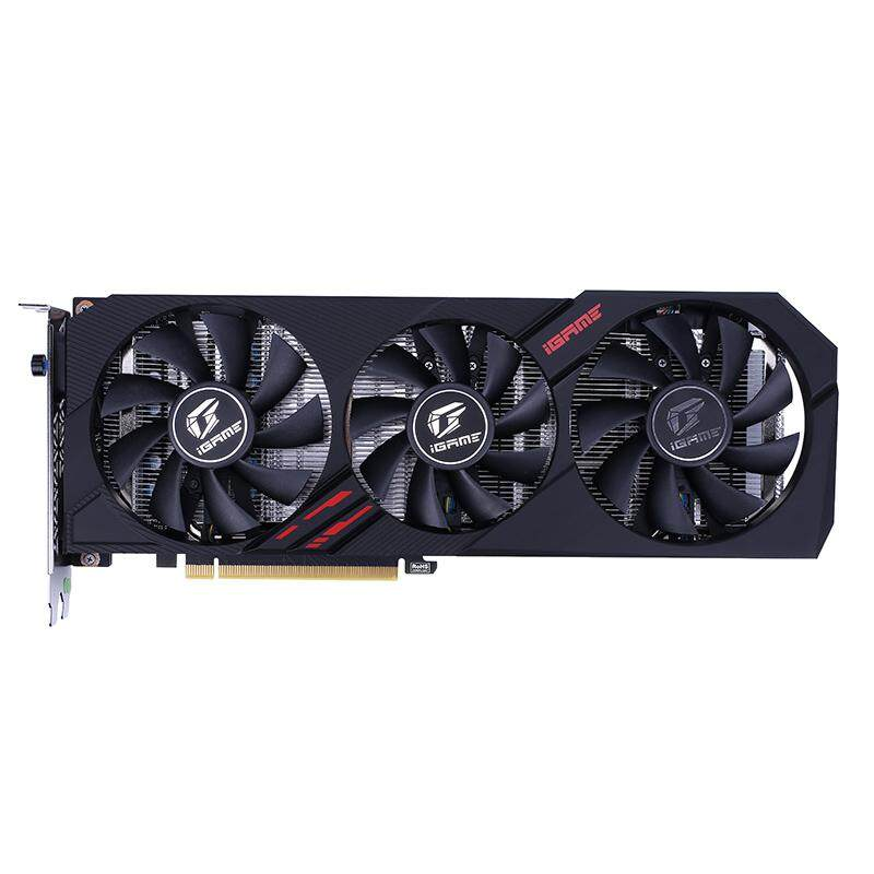 【Free Shipping + Super Deal】Colorful iGame GTX 1660 Ti Ultra 6GB GDDR6 192Bit 1770-1845MHz 12Gbps Gaming Video Graphics Card