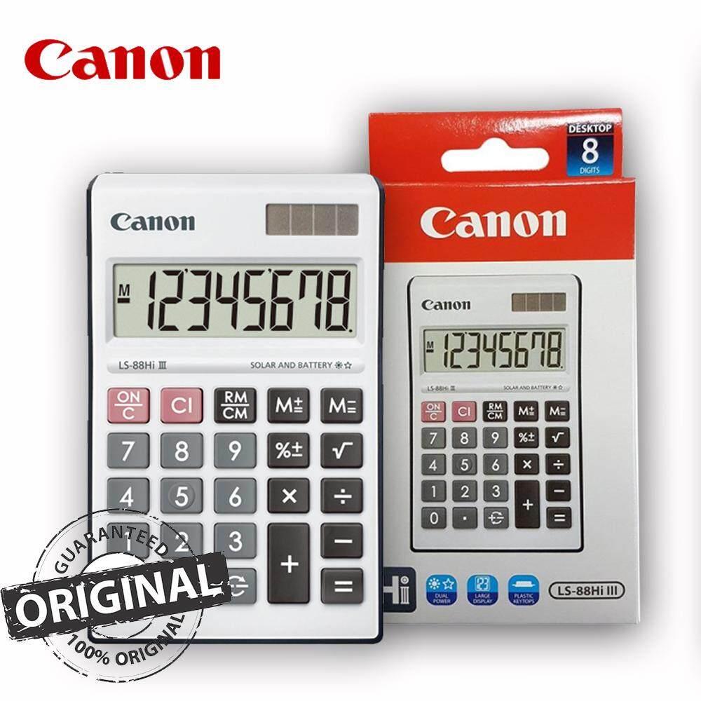 Canon 8-Digit Calculator LS-88Hi III