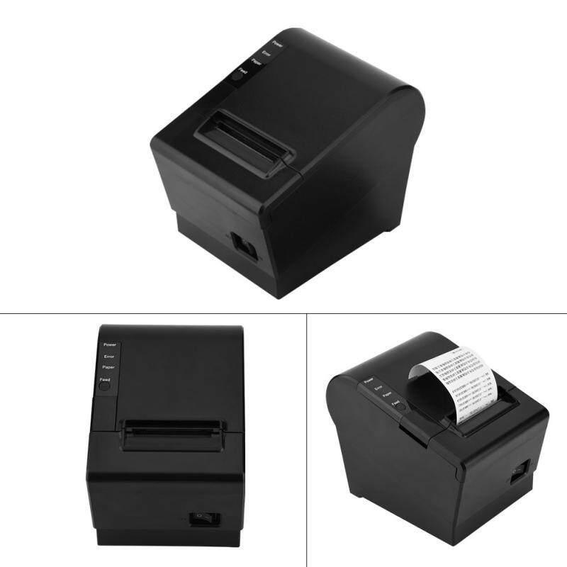 Printers - Ethernet Thermal Receipt Printer 120mm/s Line Thermal Printing Thermal Printer - [UK PLUG]