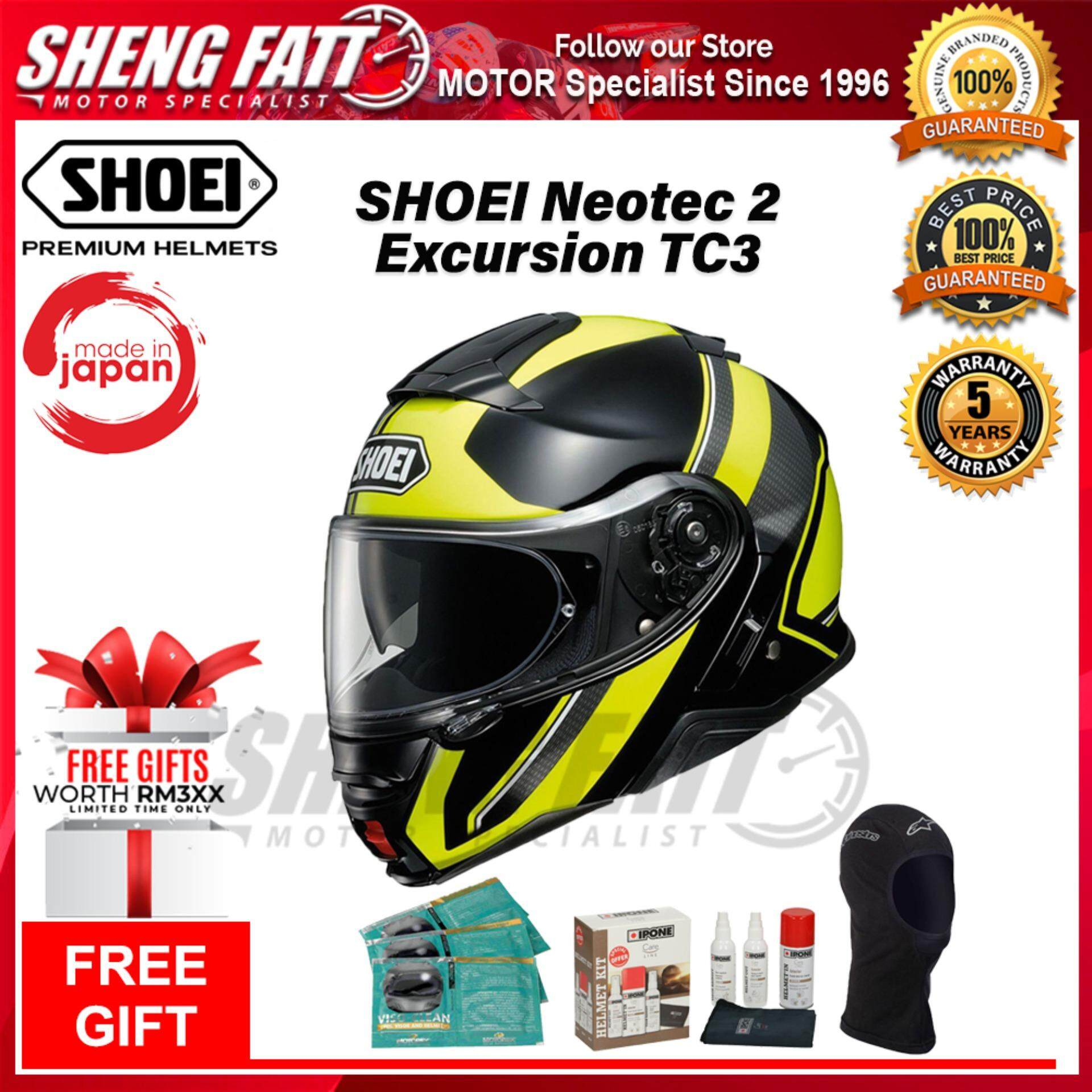 SHOEI NEOTEC 2 EXCURSION TC3 - FLIP FACE HELMET [ORIGINAL]
