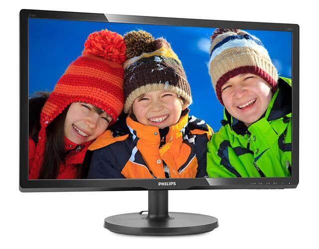 Philips 216V6LHSB2/69 21 inch LCD monitor Full HD 1080p TFT 16:9 FHD Display (VGA / HDMI)