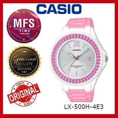 (2 YEARS WARRANTY) CASIO ORIGINAL LX-500H-4E3 SERIES YOUTH ANALOG-LADIES WATCH