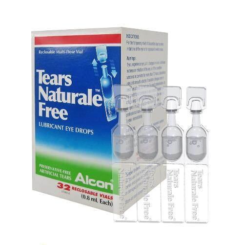 Alcon Tears Naturale Free Eye Drops 0.8ml x 32's
